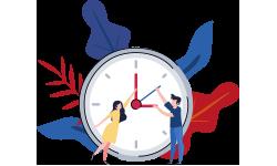 Around-the-clock Support