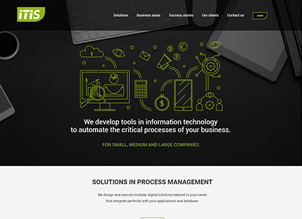 itisla web design project