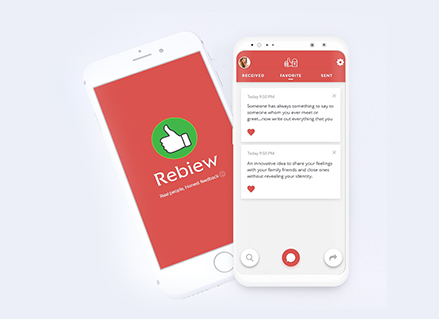 rebiew android application