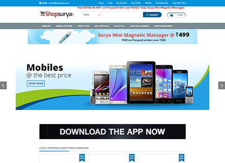shop surya