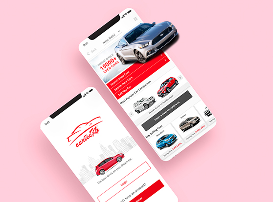 carteckh mobile application