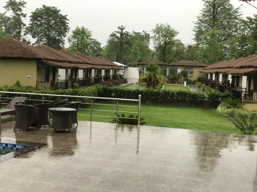 Rain in Tigers resort