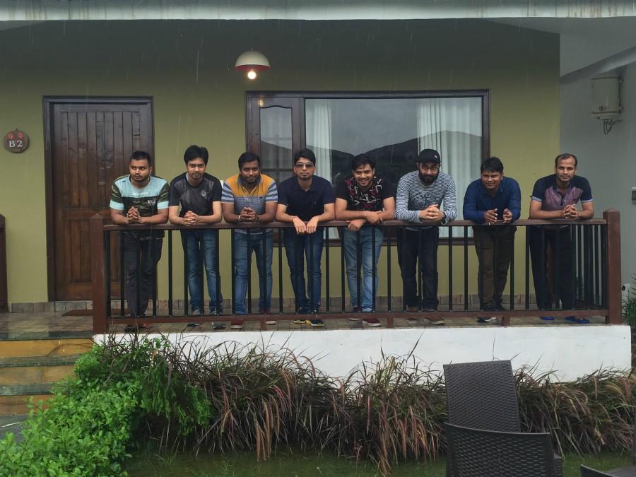 Sparx Team in resort