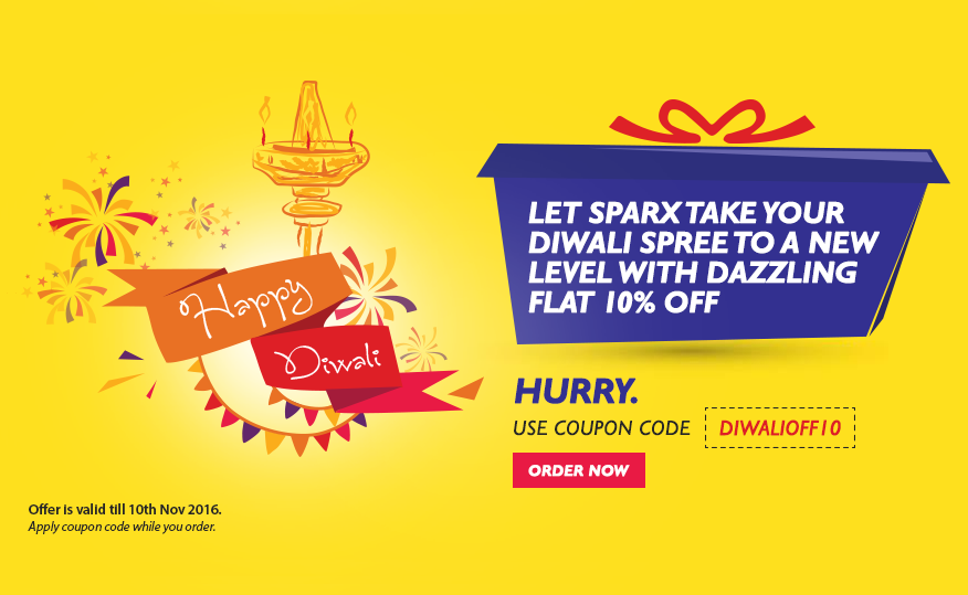 Sparx IT Solutions Proffers 10% Diwali Discount on All Projects
