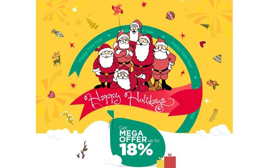GRAB MEGA DISCOUNT ON FESTIVITY OF NEW YEAR & X-MAS