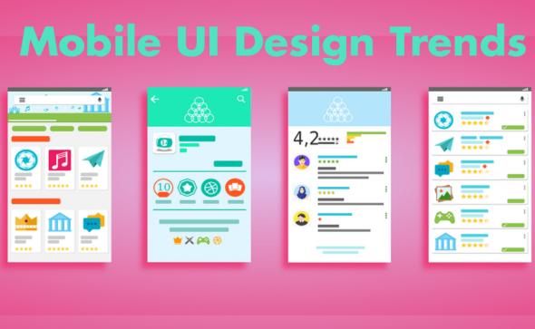 Ultimate mobile ui design trends predictions for 2017 sparx it solutions blog - Mobel trends 2017 ...