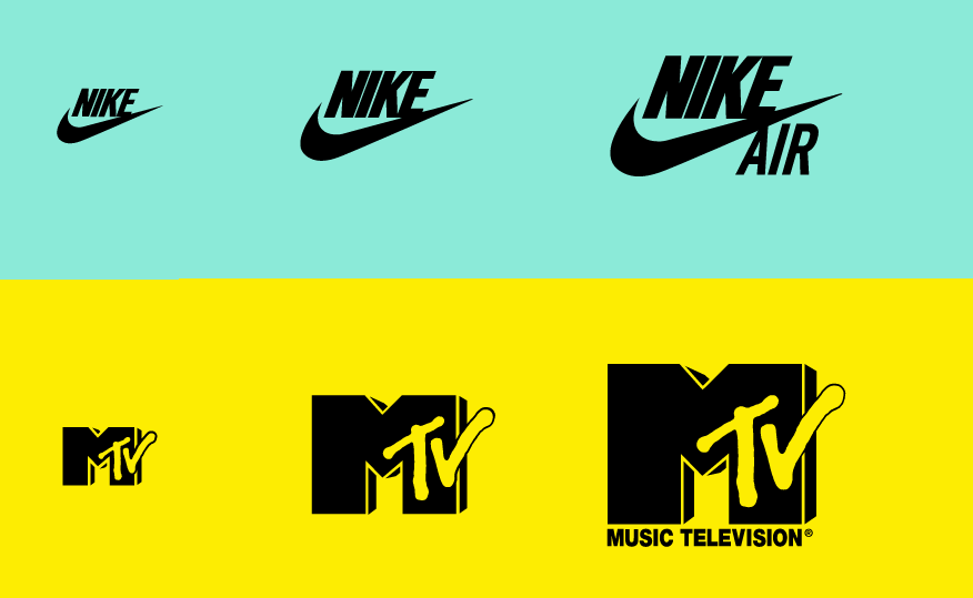 responsive logo design example