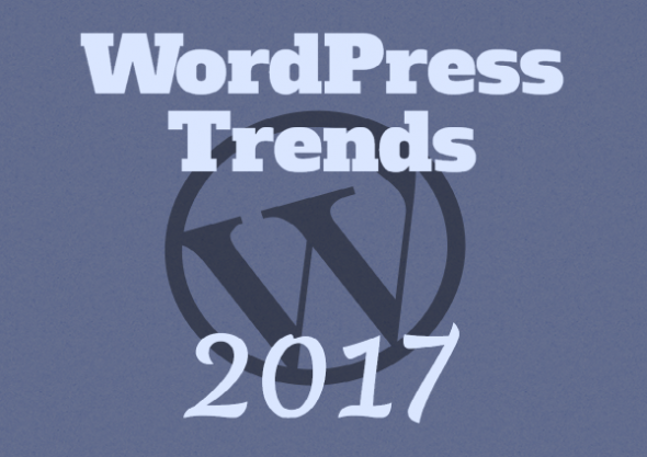 Magnificent WordPress Trends Banner