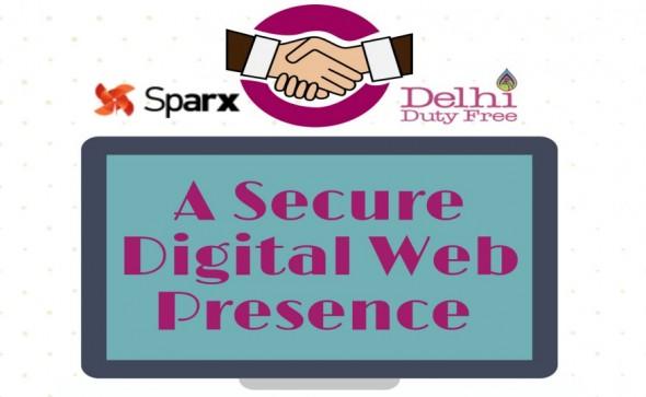 Delhi Duty Free Services Digital Marketing by Sparx