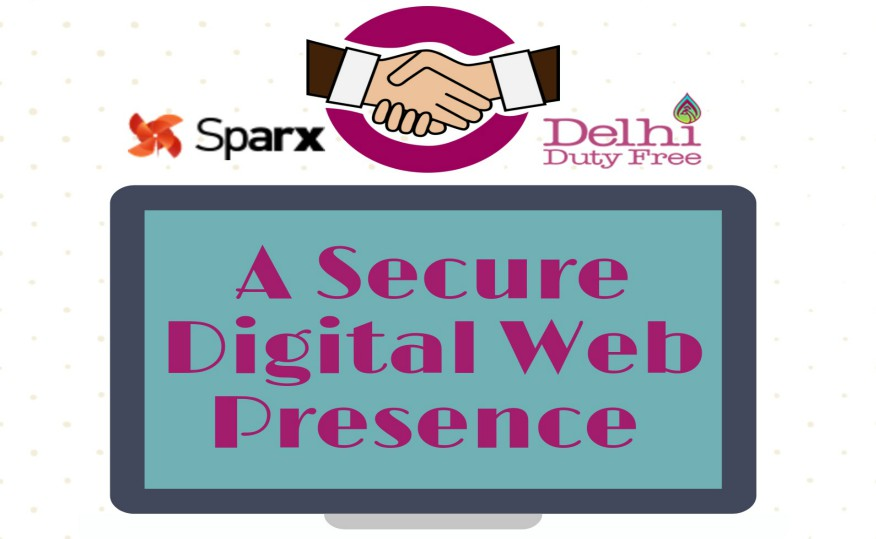 Delhi Duty Free Services Digital Marketing by Sparx