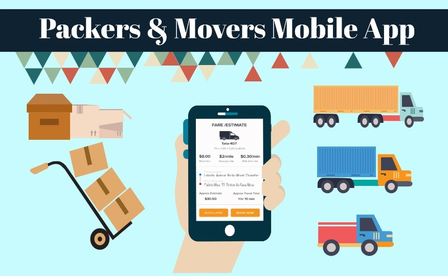 Packers & Movers Mobile App Development – Benefits & Cost