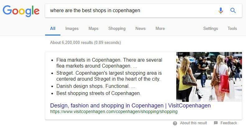 Aim Towards Featured Snippets