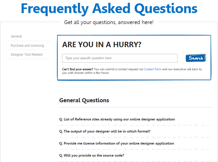 Create Precise FAQ Pages