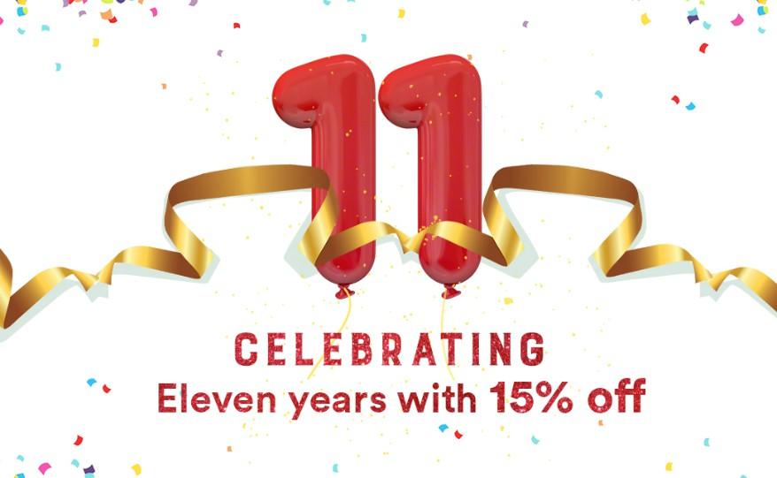 Discount Deals on 11th Foundation Day at Sparx