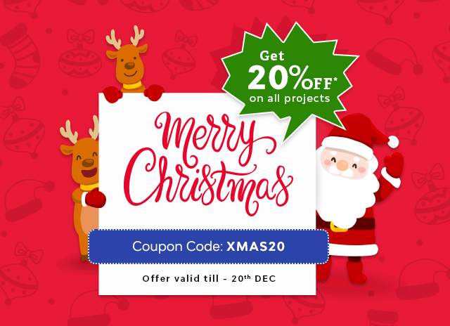 The Mega Christmas Discount Of 20% OFF Is Announced!