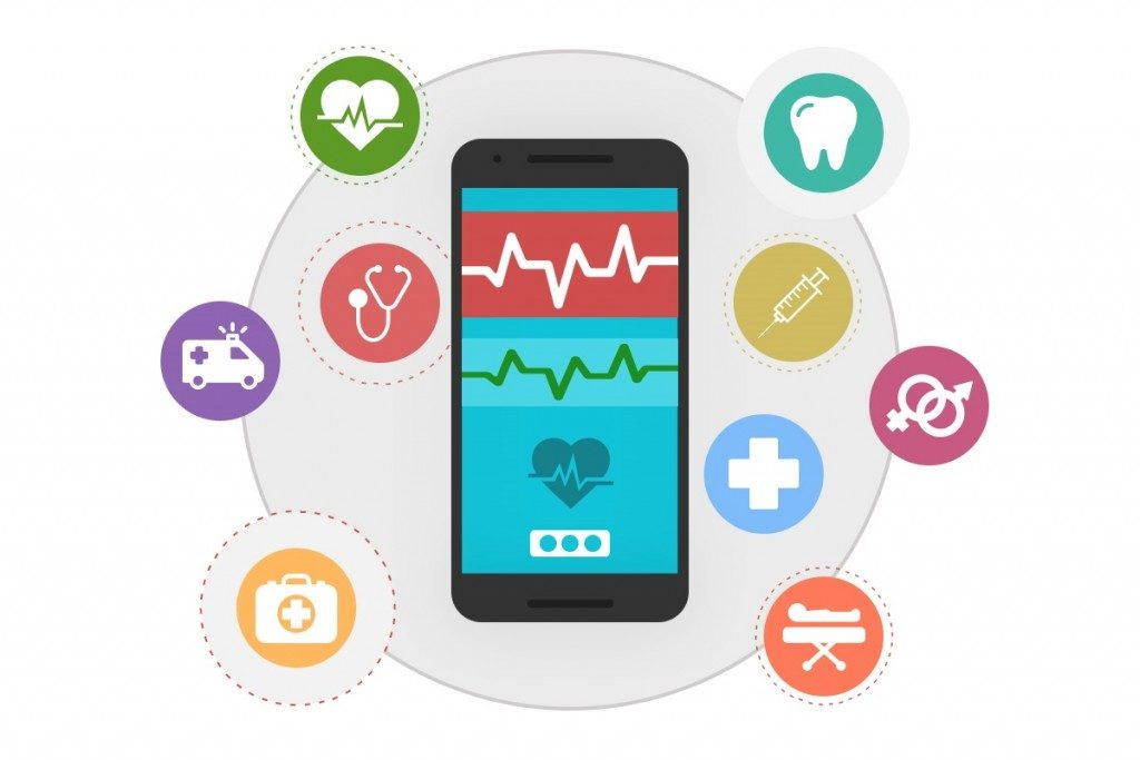 Hierarchy Among Healthcare Apps,