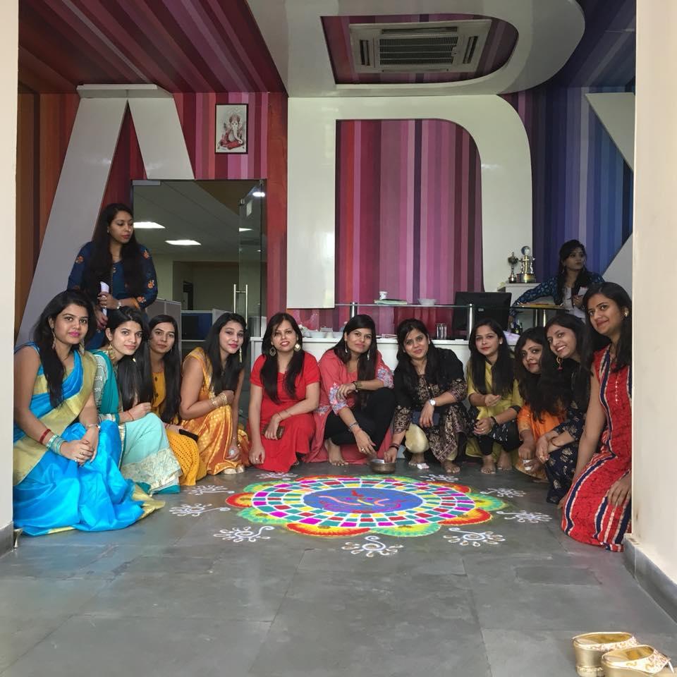 Diwali Celebration Ranglois