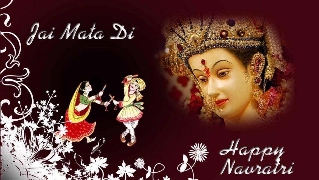 Navratri pooja celebration