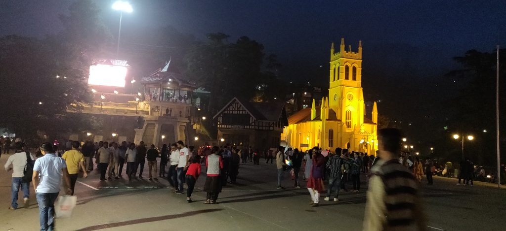 shimla clock tower