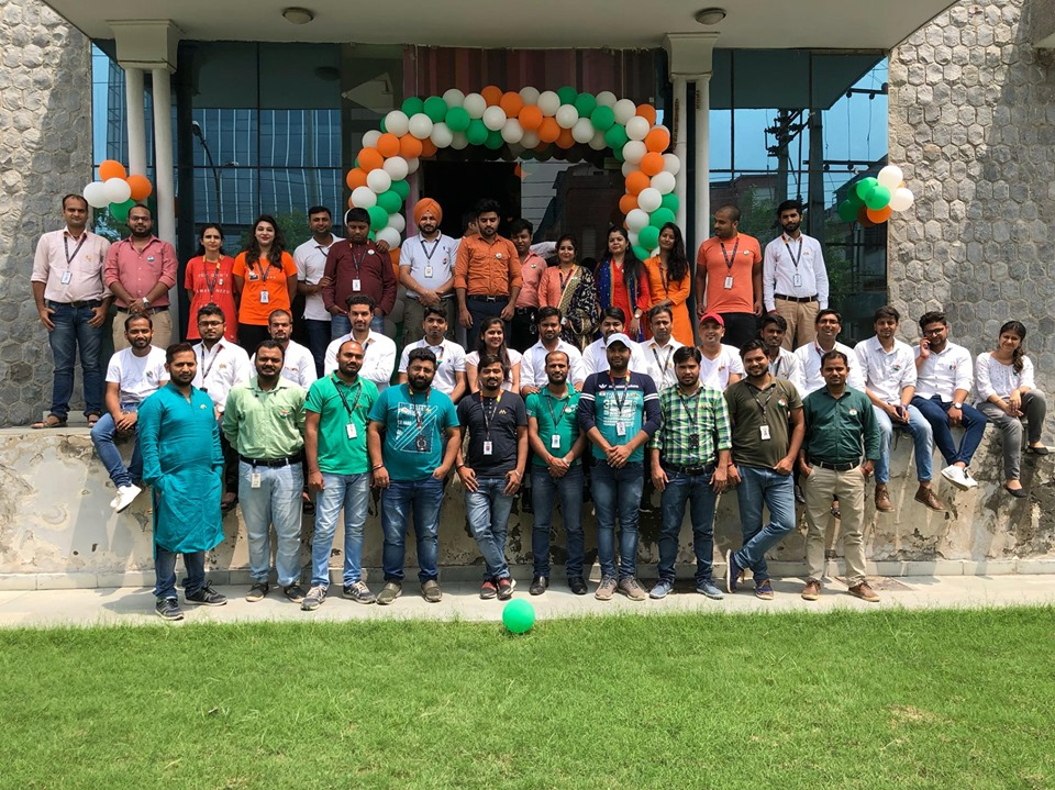 Sparx Celebrated 73rd Independence Day With Full Spirit