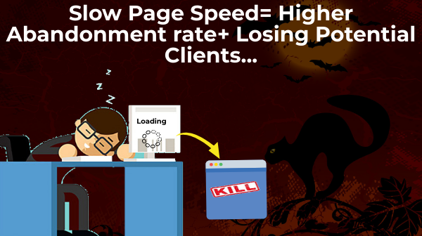 slow page speed