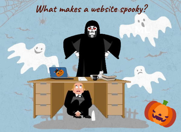 spooky website