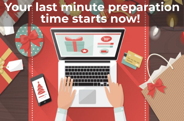 Your last minute preparation time starts now!
