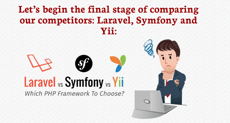 laravel-symfony-yii
