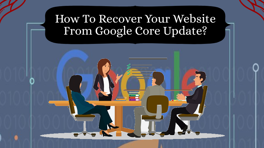 recover a website from Google core update