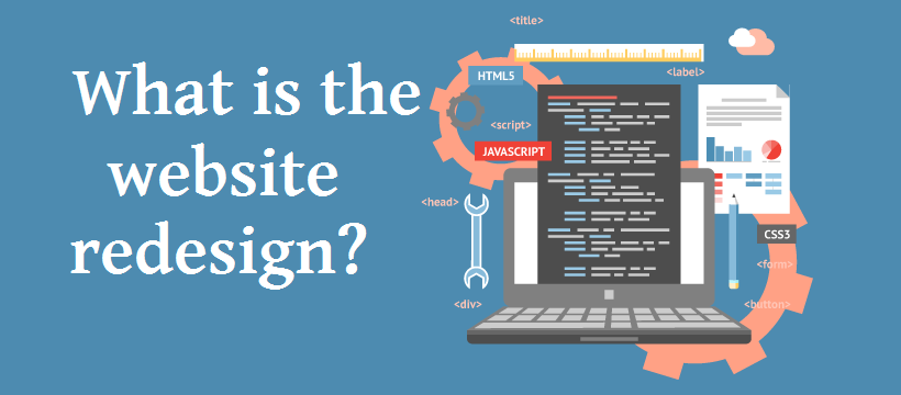 what is website redesign