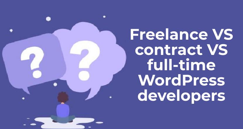 freelance vs contract vs full time