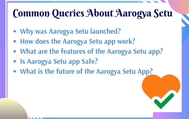 Common Queries About Aarogya Setu