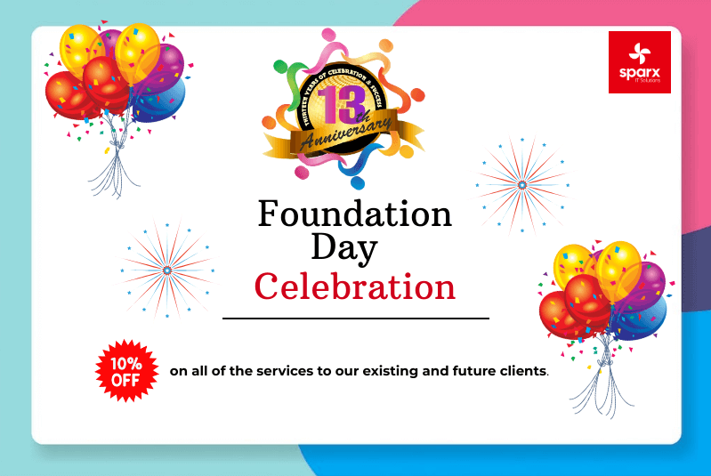 13th Foundation Day of Sparx IT Solutions: We Owe You All