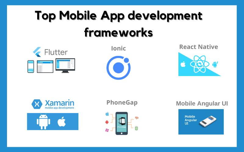 Top Mobile App-development-frameworks