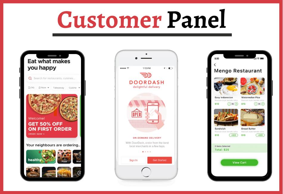 Customer Panel