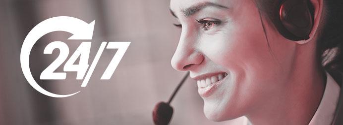 24*7 Customer Support