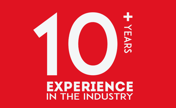 10+ Year Industry Experience