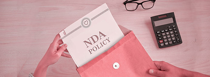 Strict NDA Terms