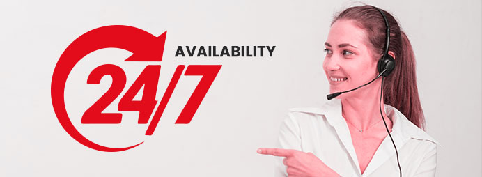 24*7 Availability
