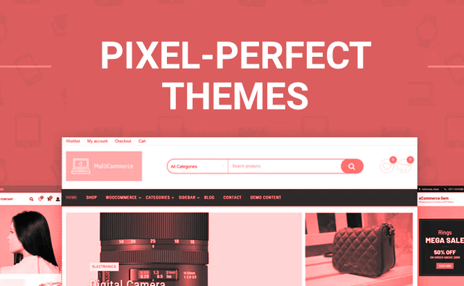 Pixel-perfect Themes